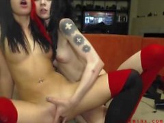 catie minx cam watch live at youngpussycams . net
