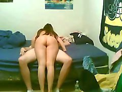 Amateur Students Couple