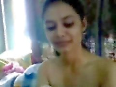 Indian very sexy Kolkata college girl naked firm tits and fucked by her bf