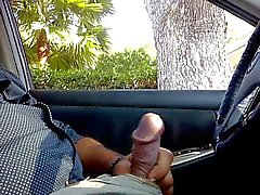 dickflash from my car to a young girl