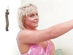 Asa gives newcomer Kelly a lesbian lesson
