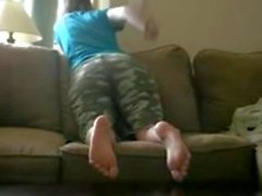 Girl Spanking Her Big Ass (2015) - amateurgirlchat