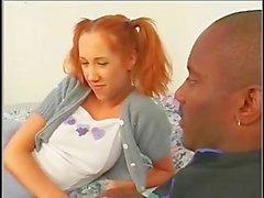 Babysitter Flick Shagwell takes Jasper Wade's BBC