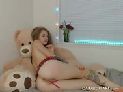 Lustful Teen Chick Is Masturbating Tenderly