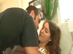 Cheerleader masturbating and fucking