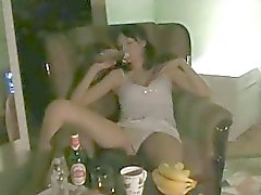 Babe suck and fuck huge big cock