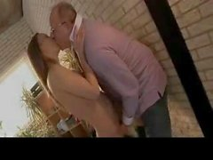 Teen seduces and older man with ease