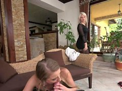 Layla Price and Sofi Goldfinger - EPIC Threesome