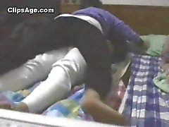 Young desi Indian couple from Mizoram enjoying sex at home video leaked