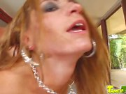 Tamed Teens Teen squirts all over from cock fucking action