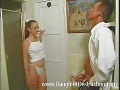 Daughter painfully assfucked by daddy