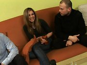 Amateur russian teen dp threesome