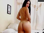 Teen babe ashley doll solo session