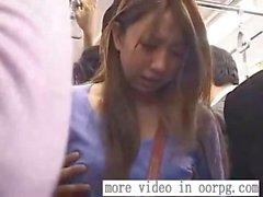 Schoolgirl groped by stranger train - oorpg