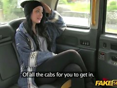 A lucky teen gets a free ride in a fake taxi on sunday