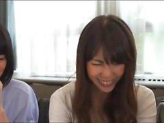Hardcore Asian Japanese Teen Threesome