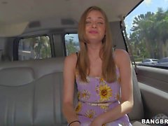 Flat chested young chick Ashton Pierce goes topless