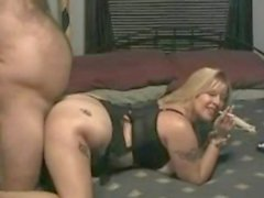 Chubby Amateur Blonde Hard Home Fuck