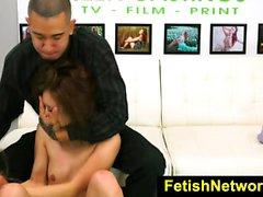FetishNetwork Mila Jade rough teen sex