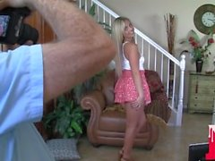 Blonde Beauty Madelyn Monroe Gets HUGWE Facial BTS