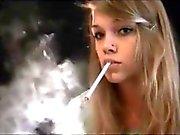 Gorgeous Smoking Girl