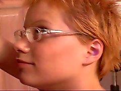 Shorthaired Redhead Teen Babysitter Emily Fucked