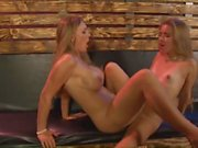 Tiny Blonde Seduced by Stepmother.