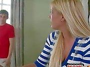 Stunning MILF Jenna Moore joins teenies