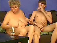 Playing with Chubby Grandma by TROC