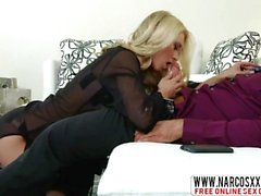 American Step Mother Katie Morgan In Stockings Wants Big Cock