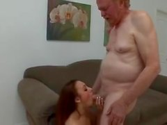 Old Man with Teen