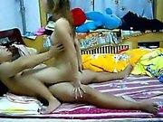 Asian chinese couple self 1fuckdatecom