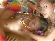 Two Filipinas wait to please cock