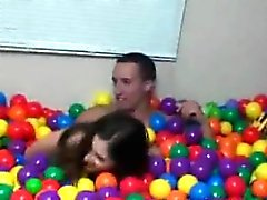 Small tits teen girls naked in ball pit