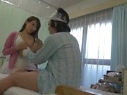 Take the wife from behind while she give a BJ to her husband 1