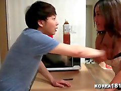 korea1818 - Lucky Virgin Fucks Hot Korean Babe!