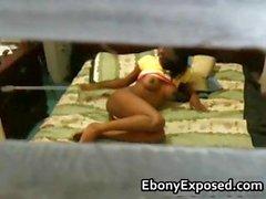 Spying my black teen neighbour 2
