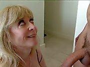 horny mom seduces son's friend!!!