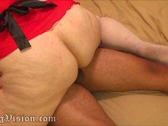 Bareback Big Butt Wife Creampie Anal PAWG MILF