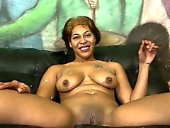 Ebony teen cutie shocking interracial
