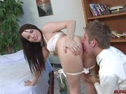 Dana DeArmond does anal with teen guy she just met