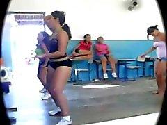 Big Booty Latin Teen Workout