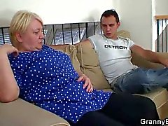 Young man goes home with granny for head
