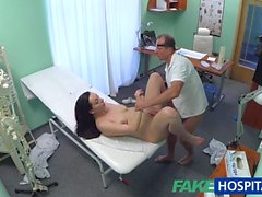 FakeHospital Babe wants Doc to suck her tits