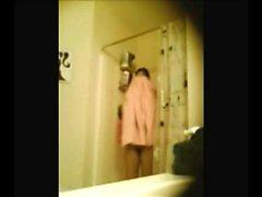 Arab stepsister 19 caught on spy camera