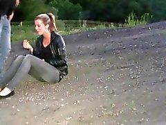 German Teens outdoor