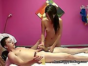 Sweaty Massage Ends In Cum Squirts