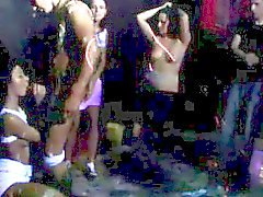 Racy orgy at the club