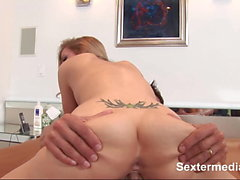 Deep penetrated cum bucket of juicy Teen bitch camel toe