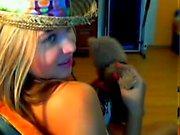 Sexy Amateur 18 Blond Teen First Time Webcam